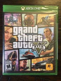 Grand Theft Auto 5 - Brand New, Never Opened