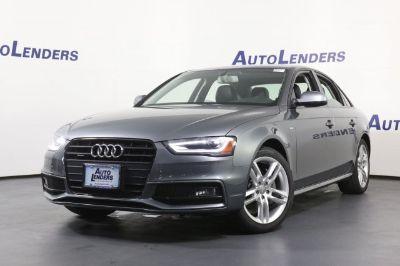 2016 Audi A4 2.0T quattro Premium (Gray)