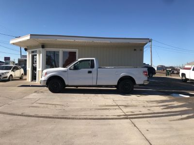 2010 Ford F-150 STX (White)