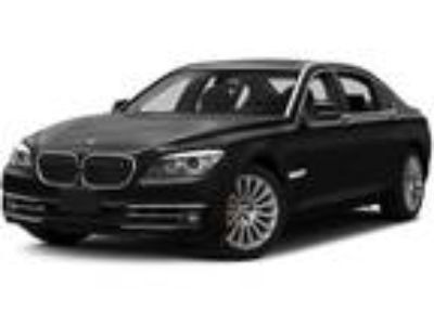 Used 2015 BMW 7 Series Gray, 34.7K miles