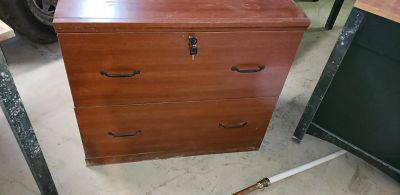 Two drawer cabinet/ or can b used as a small dresser