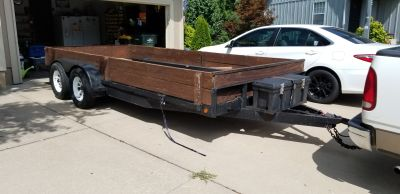 2003 Outlaw 18' (16+2) Car Hauler Trailer