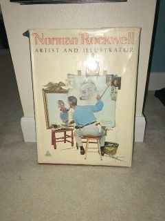 Norman Rockwell HUGE collectors book
