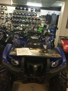 2014 Yamaha Grizzly 700 FI Auto. 4x4 EPS ATV Utility ATVs Zulu, IN