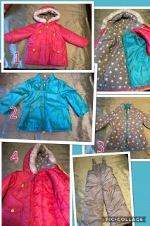 Carter s 3T 4-in-1 jacket with snow pants.