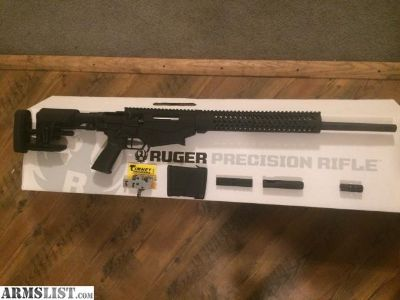 For Sale: RUGER PRECISION 308 W/ EXTRAS