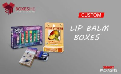 Get your Custom Lip Balm Boxes from us