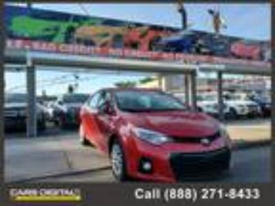 2016 TOYOTA Corolla with 103848 miles!