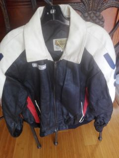 Leather jacket size xl