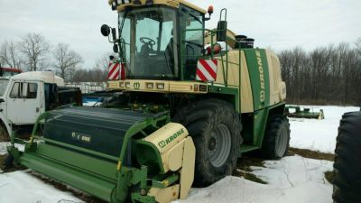 2009 Krone 800 Forage Harvester for sale in Wyoming, NY.