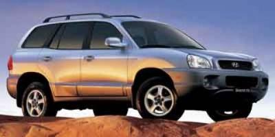 2004 Hyundai Santa Fe GLS (Arctic Blue/Light Silver Cladding)