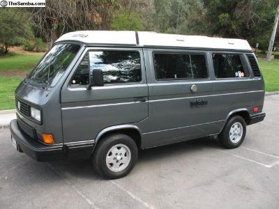 1989 Vanagon Westfalia Camper