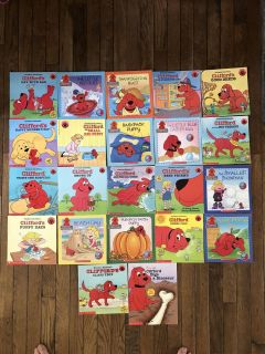 Clifford fans! 24 Book set with holiday books