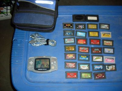 gameboy advance and 28 games