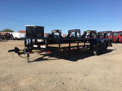 7x12 Tandem Axle Utility Trailer Pro Series, Water Tank Trailer GVWR 9,990 lbs, Big Tex 10PI-12