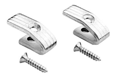Buy Goodmark GMK3020532642P - 1967 Ford Mustang Coat Hooks 2 Pcs w Screws Body Part motorcycle in Tampa, Florida, US, for US $10.48
