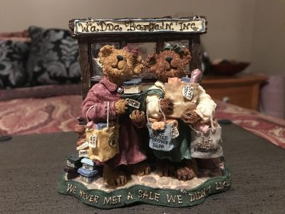 Boyd s Bears Pam and Kristi Shopsalot...what a Bargain