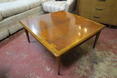 Vintage MCM Lane walnut Acclaim coffee table