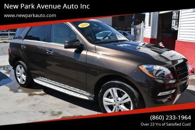 2014 Mercedes-Benz M-Class ML350 4MATIC (Brown)
