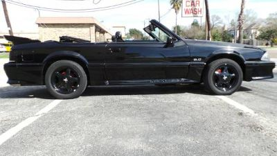 For sale i have an amazing 92 Limited Mustang 5.0L Convertible you
