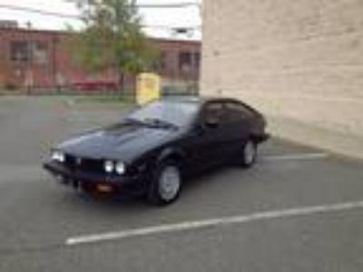 1986 Alfa Romeo GTV-6 Leather Seats