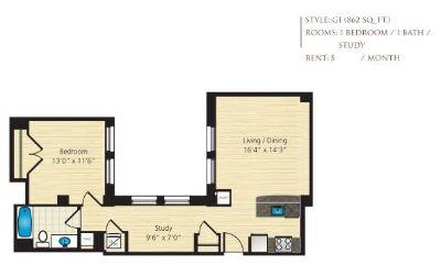 $6330 1 apartment in Dupont Circle