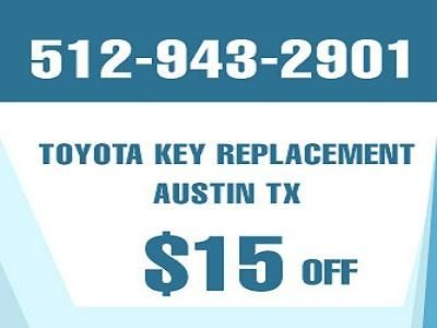 Toyota Key Replacement Austin TX