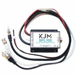 Find KJM SPL100 Antenna Splitter for VHF Radio, AIS Receiver & AM / FM Radio 16389-26 motorcycle in Bellingham, Washington, United States, for US $59.99