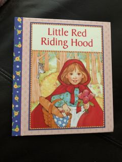 Little Red Riding Hood Hardcover Book. Nice Condition. A Great Summer Reader