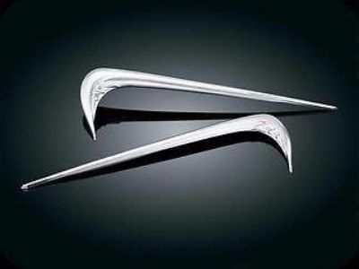 Sell Kuryakyn Chrome Saddlebag Side Emblems GL1800 3214 motorcycle in Ashton, Illinois, US, for US $49.99