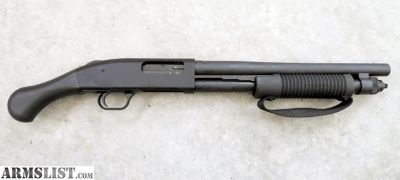 For Sale: Mossberg shockwave 590 with short shell adapter and 12 gauge short shells