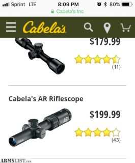 For Sale: Cabelas Red dot