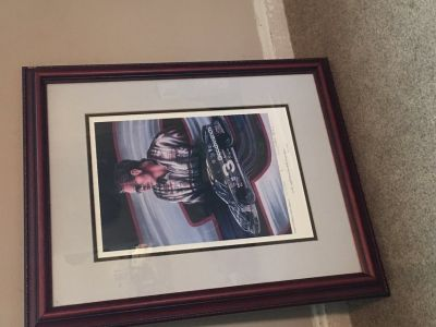 Framed Dale Earnhardt