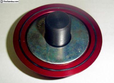 JayCee Broached Pulley Nut W/ Billet Hat