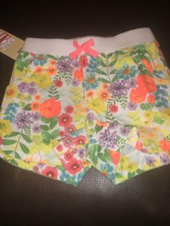 Cherokee 3T floral shorts