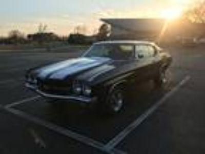 1970 Chevrolet Chevelle SS 396 Project Car