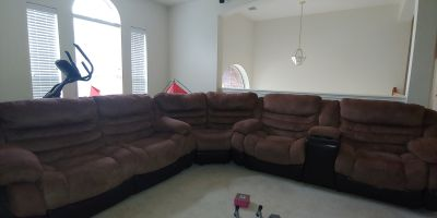 6-seater sectional