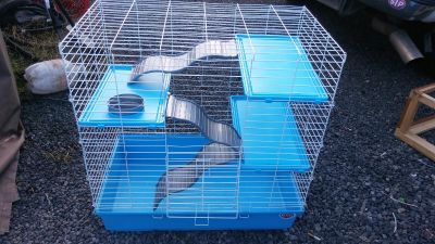 Large ferret or smail animal cage