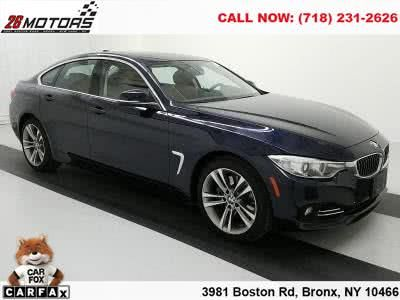 2015 BMW 4 Series Luxury Sport 4dr Sdn 428i xDrive AWD Gran C (Imperial Blue Metallic)