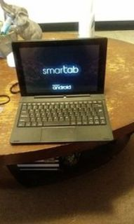 tablet w/ keyboard and charger