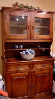 (China Cabinet + Hutch) French Provincial Style