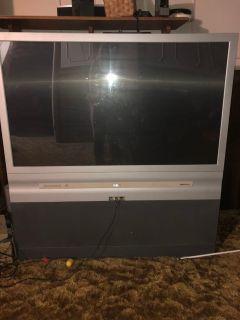 """Rca 45"""" tv in great condition floor model"""