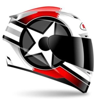 Buy BELL VORTEX ATTACK RED/WHITE HELMET SIZE S SMALL FULL FACE STREET HELMET motorcycle in Elkhart, Indiana, US, for US $179.95