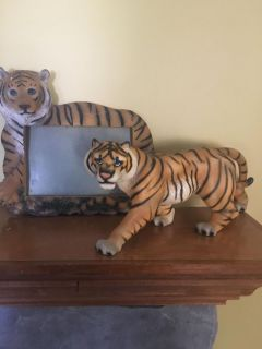 Tiger and picture frame $5