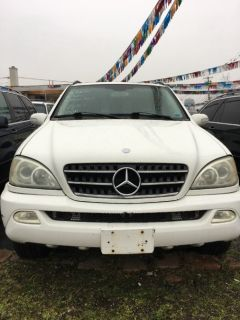 2003 Mercedes-Benz M-Class ML350 (Alabaster White)