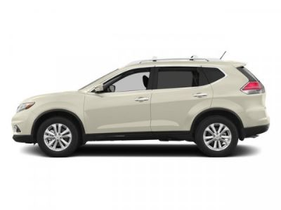 2015 Nissan Rogue S (Pearl White)