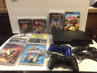 PS 3 System/Games