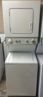"Kenmore 24"" Stackable Washer and Electric Dryer Unit-220V"