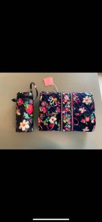 Vera Bradley Changing Pad and Insulated Bottle Bag