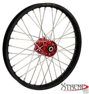 "Buy 21"" X 1.60"""" FRONT MX WHEEL FOR HONDA 2000'-2013' CRF450 BLACK RIM/RED HUB motorcycle in Huntington Beach, California, US, for US $295.00"